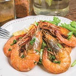 Picture of Garlic Prawns