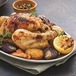Picture of Lemony Roast Chicken