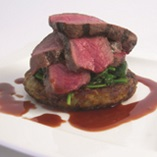Picture of Venison with Balsamic Jus