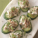 Picture of Crab and Cucumber Salad