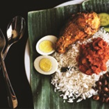 Picture of Nasi Lemak with Chicken