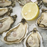 Picture of Fresh Oysters with Lemon Juice