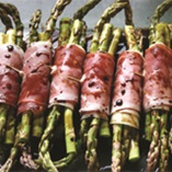 Picture of Asparagus Wrapped with Prosciutto