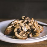 Picture of Creamy Mushrooms on Sourdough
